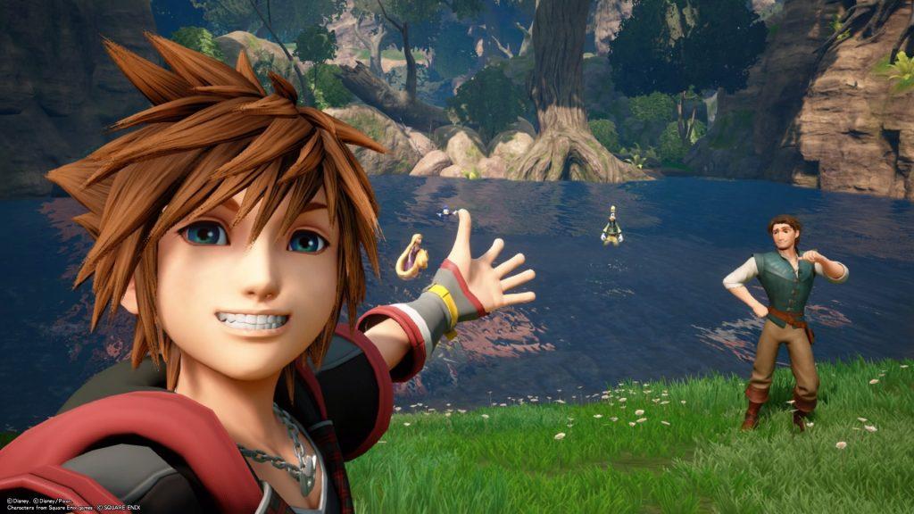 Kingdom Hearts 3 Raiponce