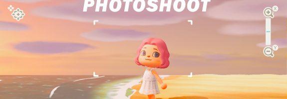 Animal Crossing photoshoot