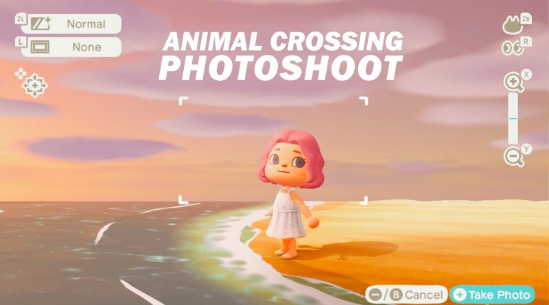 Animal Crossing photoshoot
