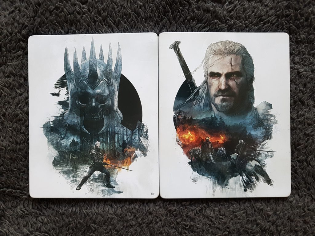 The Witcher 3 steelbook