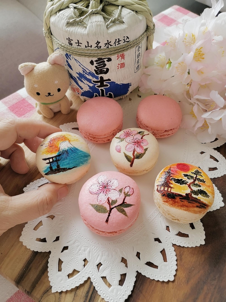Macarons japonais