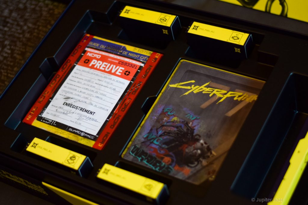 Cyberpunk 2077 édition collector unboxing