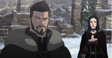 Film d'animation Netflix The Witcher le cauchemar du loup